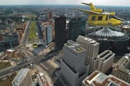 "Avcen Jetpod T-100 City Flying Taxi says ""naught"" to highways"