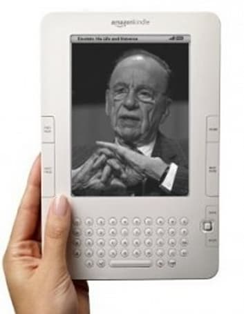Rupert Murdoch: Amazon now 'willing to renegotiate' e-book prices