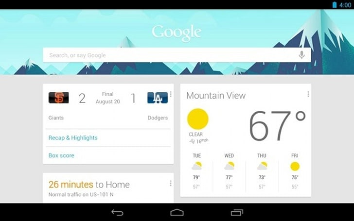 Google Search app for Android updated (update)