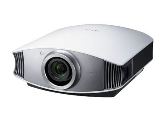 Sony Pearl VPL-VW50 1080p SXRD projector shown, dated and priced in Japan