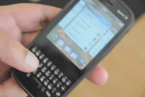 Palm Pixi Software Demo