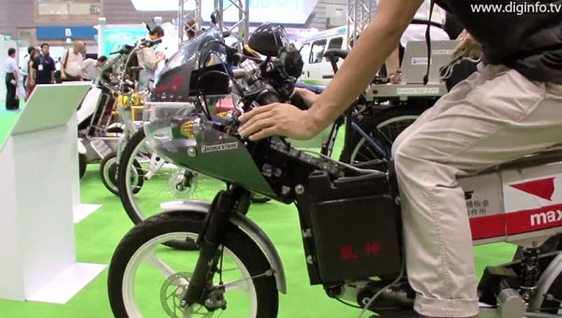 Hama Zero's Solar Bike Fujin runs thanks to the sun, not on it (video)