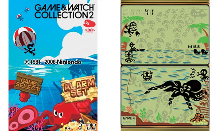 Video tour of Game & Watch Collection 2