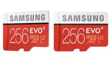 同級最大容量!三星 EVO Plus 256GB microSD 登場