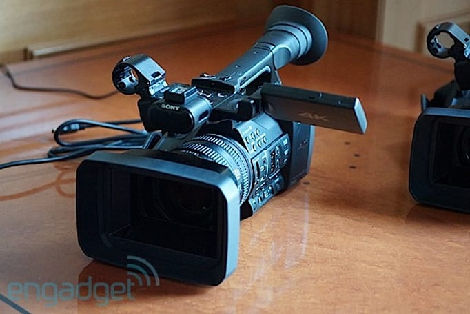 Sony's $4,500 FDR-AX1 Handycam puts 4K recording in the grasp of prosumers (eyes-on)