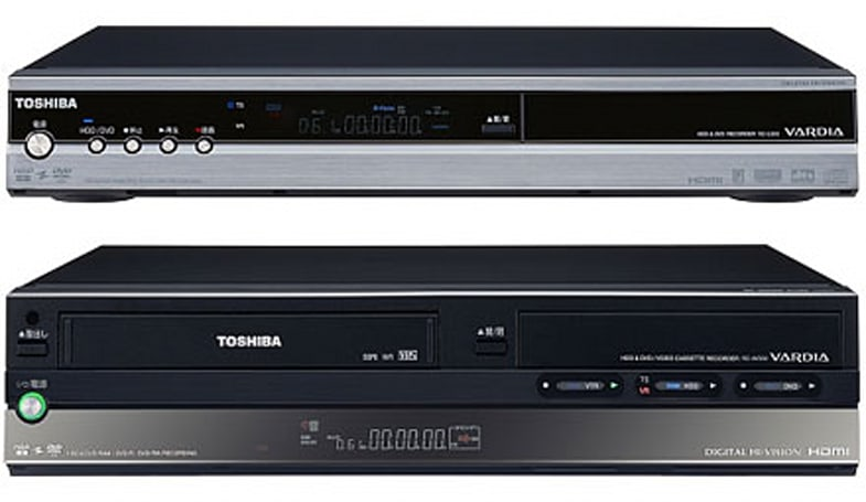 Toshiba annnounces new VARDIA HDD/DVD recorders