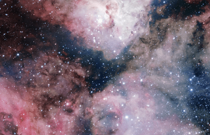 Visualized: Carina Nebula captured with a 268-megapixel camera