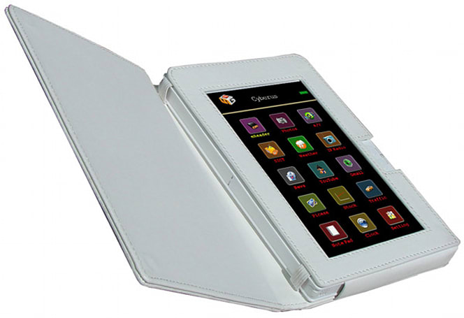 Sungale's 7-inch Cyberus ID700WTA is neither a PMP nor an ereader, really