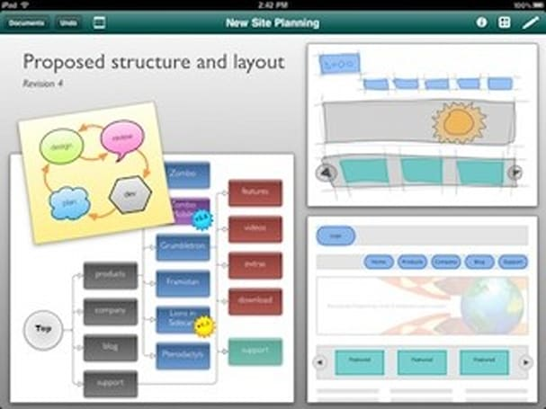 OmniGraffle for iPad 1.4 out now