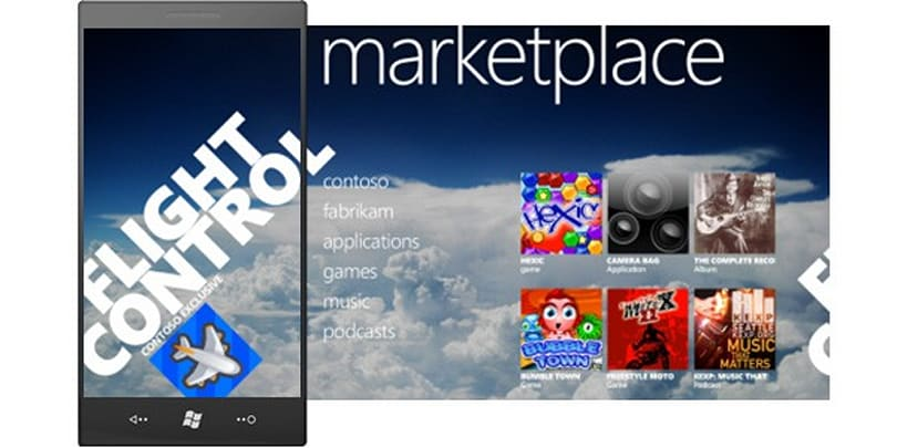 Windows Phone 7 Series Marketplace gets pictured