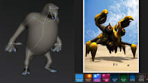 Autodesk 123D Creatures lets you create monsters on your iPad