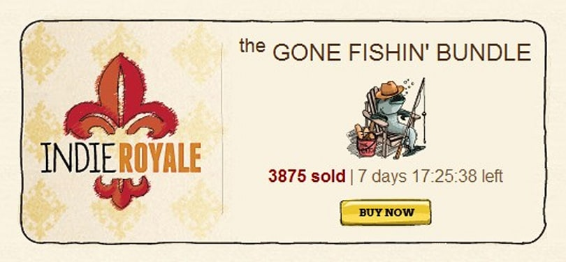 Gone Fishin' indie bundle now live with seven indie games
