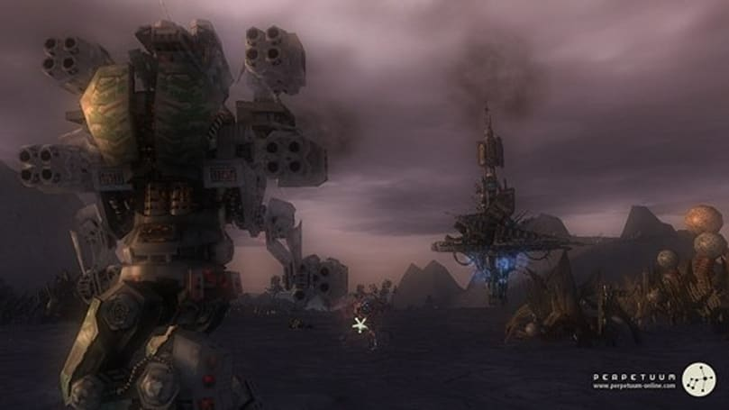 Perpetuum devs working on new mech, combat log, and more