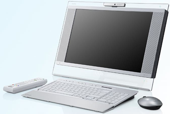 Sony kicks out VAIO N30 laptop, sleek LA3 desktop