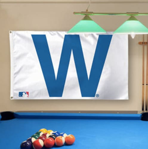 Cubs #FlyTheW 3x5 flag
