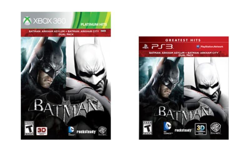 Batman bundle contains Rocksteady's two Arkham games