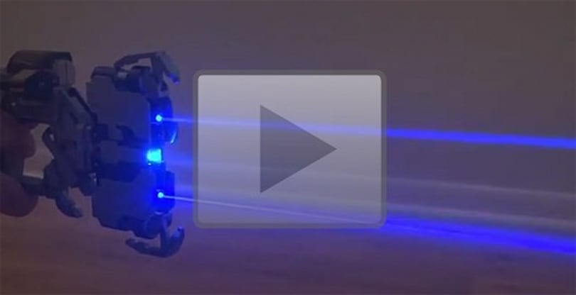 Replica Dead Space plasma cutter filled with deadly lasers