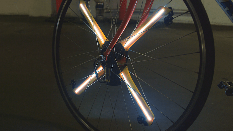 Balight's bike LEDs light up your ride in the doofiest way possible