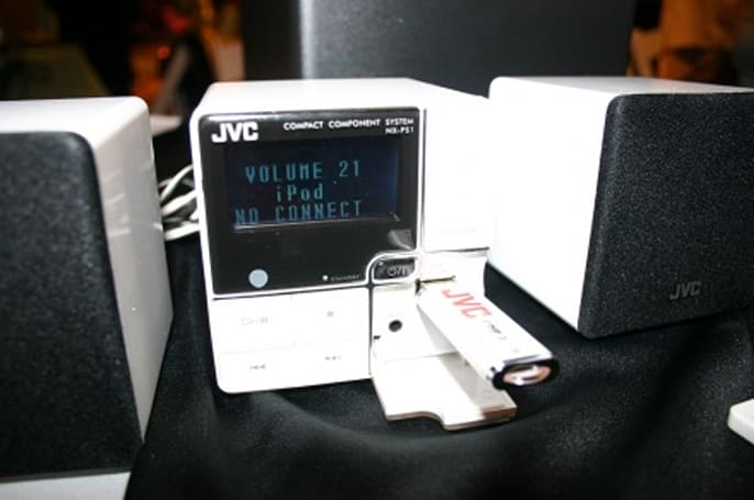 JVC's new audio lineup, live and in person