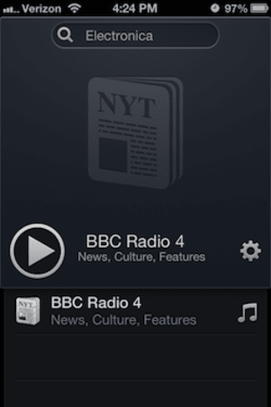 Daily iPhone App: Radium for iOS is a delight for radio fans