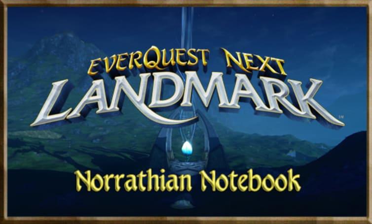 Norrathian Notebook: EQN Landmark alpha 101