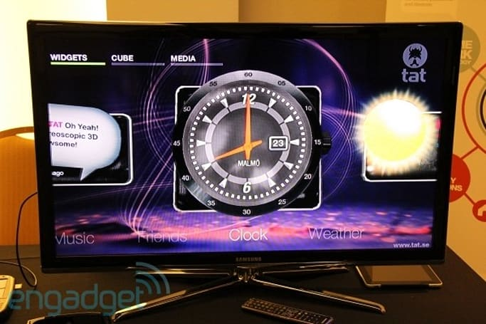 TAT's Dimension S3D is a user interface for stereoscopic TVs (video)
