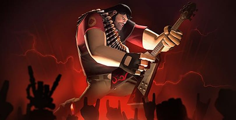 Brutal Legend items now available in Team Fortress 2