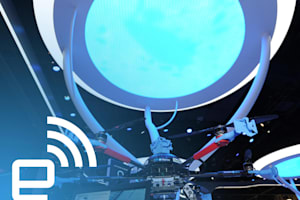 Intel's Insanely Futuristic CES Booth in Less Than 60 Seconds