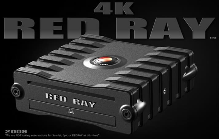 RED blows away small room of videophiles with 4k RED RAY footage at half the bitrate of MiniDV