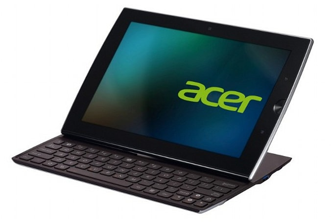 Acer planning a sliding Android tab for the holidays, won't fit in your stocking