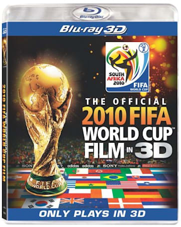 Sony queues up The Official 2010 FIFA World Cup Film in 3D on Blu-ray for November