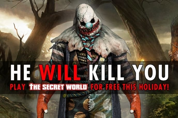 The Secret World's killer clown is coming to get you