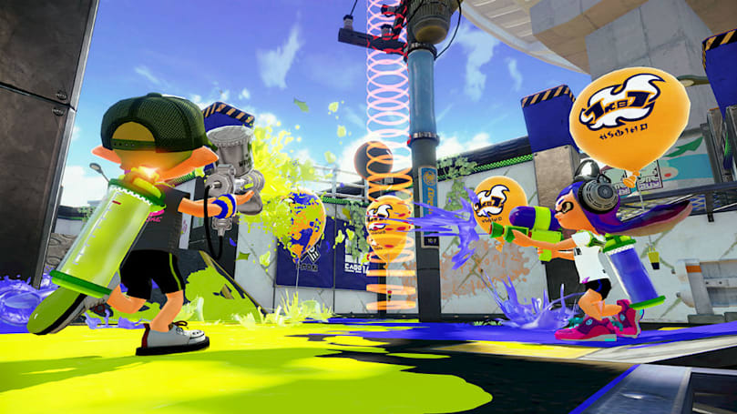 Nintendo's adorable shooter 'Splatoon' sells 1 million copies
