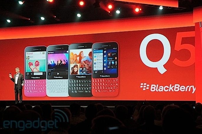 BlackBerry Q5 to make early debut in the UAE tomorrow