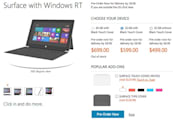 Microsoft puts a price on Surface RT: starts at $499, or $599 with Touch Cover
