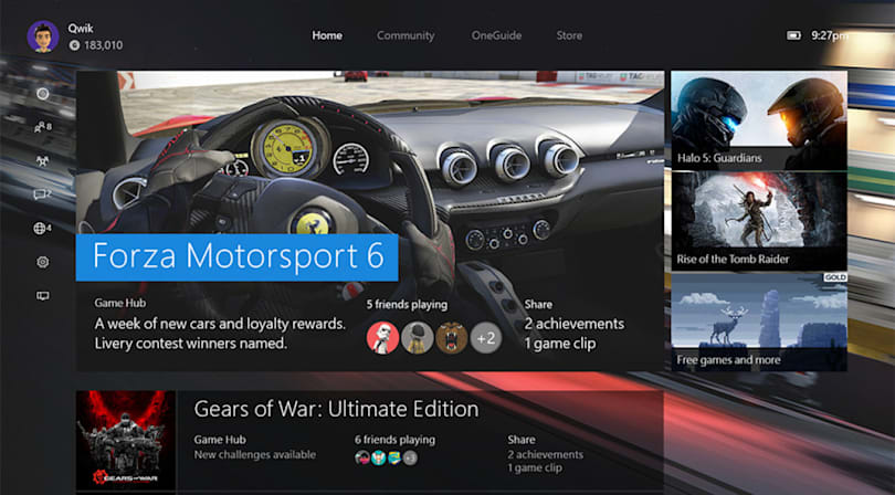 Xbox One's big backwards compatibility update arrives November 12th