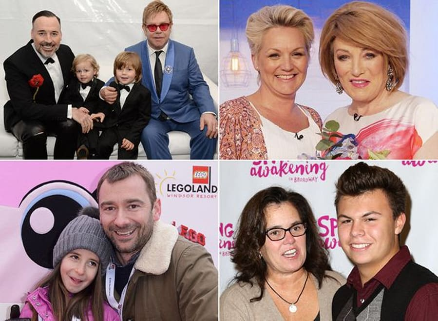 15 Famous LGBT Families Who Are Thriving