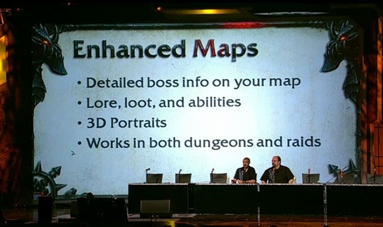 BlizzCon 2010: Patch 4.1.0 brings enhanced dungeon maps
