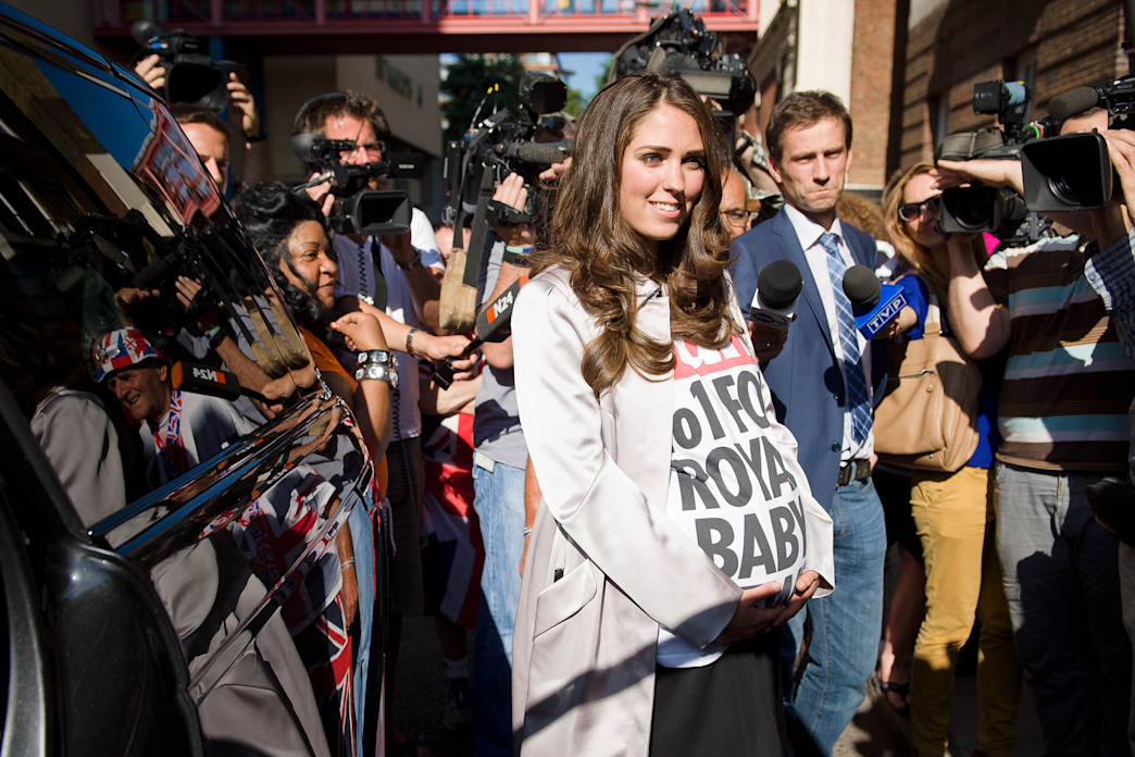 A Royal Baby 'Look-Alike' Pranks Media