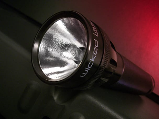 The Torch flashlight: why illuminate when you can incinerate?