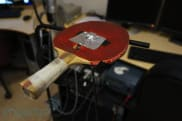 Northeastern University's haptic ball-racket system is one pricey game of paddle ball
