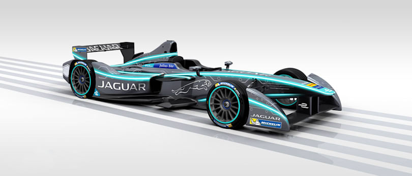 Jaguar returns to racing with its first all-electric car