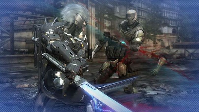 Getting some wet work done in Metal Gear Rising: Revengeance