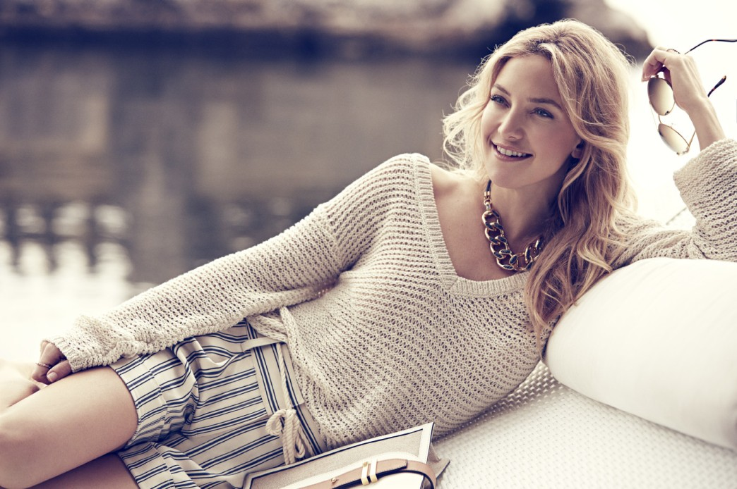Kate Hudson dishes on Ann Taylor's summer collection