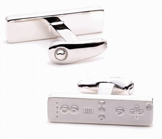Wiimote cuff links: an accelerometer short of greatness