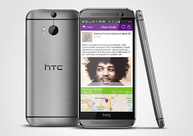 Engadget giveaway: win an HTC One M8 courtesy of MapHook!