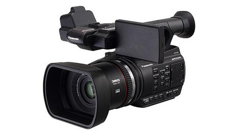 Panasonic AG-AC90 professional camcorder: three CMOS sensors in a handheld package for $2,250