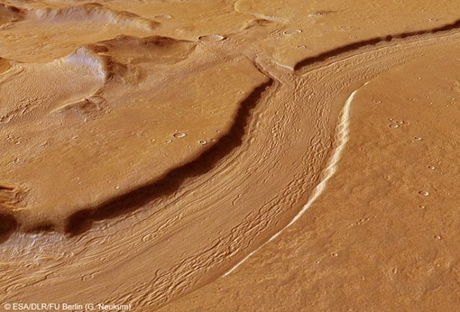 Visualized: On Mars, rivers are deep, mountains remain high