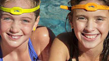 High-tech headband looks to keep kids from drowning