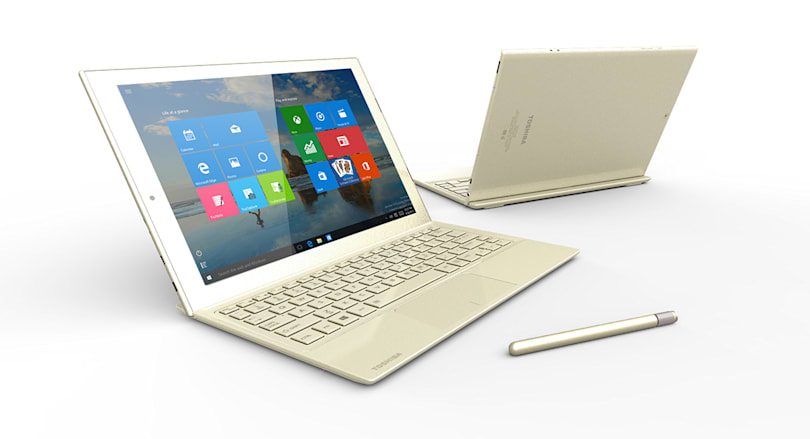 Toshiba's Surface-like DynaPad is coming to the US next year